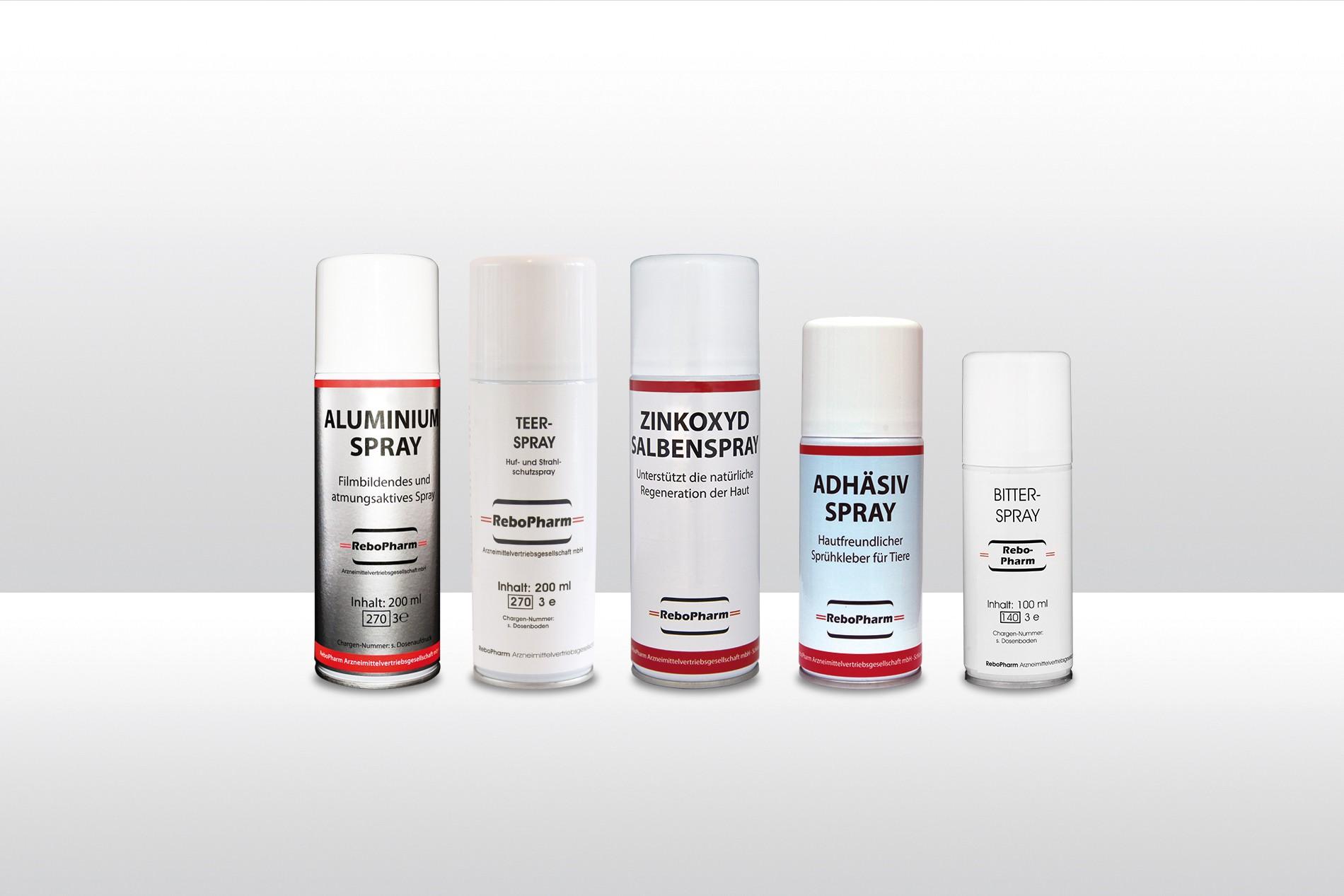 ReboPharm Sprays