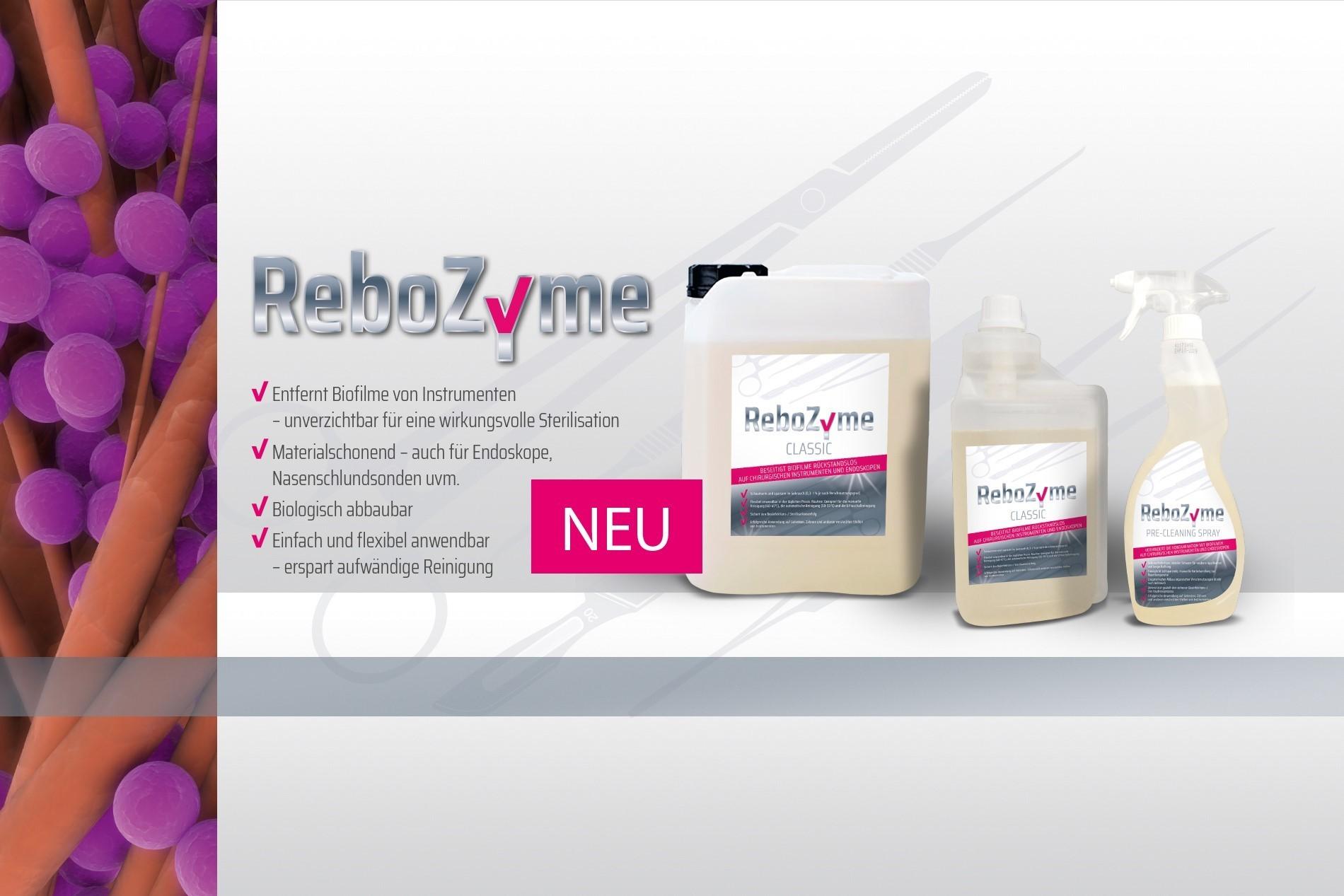 ReboZyme – Unsere neue Produktlinie