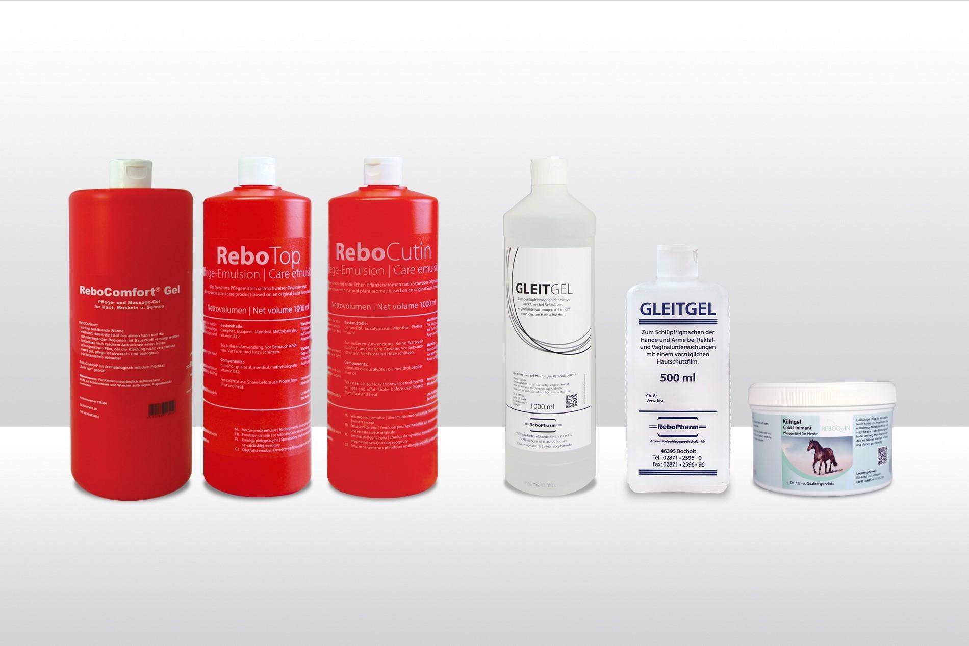 ReboPharm verzorgende emulsies